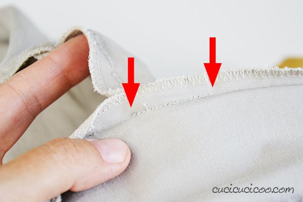 Hai dei pantaloncini vecchi che non usi mai? Trasformali in una gonna che vorrai indossare ogni giorno, GRATIS! Scopri come cucire una gonna a godet da un pantaloncino!