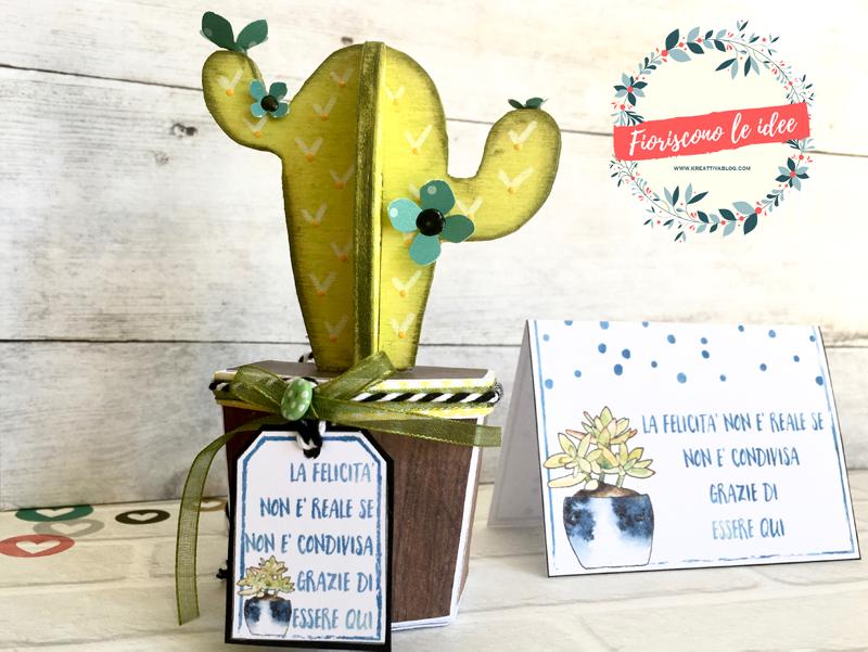 5 tutorial fantastici per fare una tua bomboniera cactus handmade con materiali diversi! Template e biglietti scaricabili per festeggiare tutti i tuoi eventi più importanti! Ecco il cactus fatto con il legno!