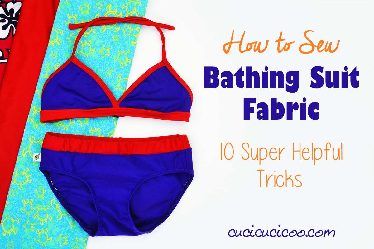 795507b560c82 Always wanted to make your own swimsuits, but are afraid to try? Here are