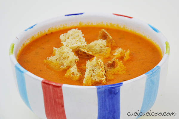 Put a modern twist on a classic winter American comfort food with the best tomato soup recipe ever! You would never guess the secret ingredients that give it a special nuanced taste! #tomatosouprecipe #comfortfood