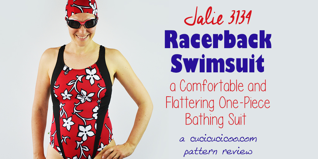Jalie 3134 A Flattering Racerback Swimsuit Pattern Cucicucicoo