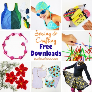 There are tons of great free sewing tutorials and patterns on the web, but have you been wondering how to get free sewing patterns all in one place? Cucicucicoo has dozens of free downloads and printables to sew, craft and create unique and customized clothing, toys, home decor and more! || #freesewingpatterns #freecraftingtemplates #freeprintables #sewingpatterns #crafttemplates #freedownloads #cucicucicoo #cucicucicoopatterns