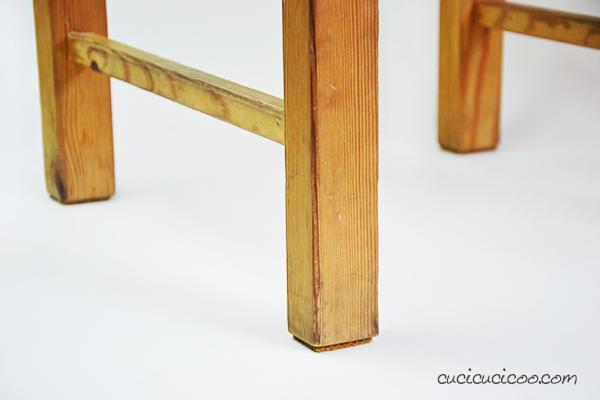 Proteggi i pavimenti di casa con questi feltrini per sedie fai da te! Bastano solo 10 secondi e un materiale di riciclo sorprendente. È semplice e GRATIS! #feltrinifaidate #casafaidate