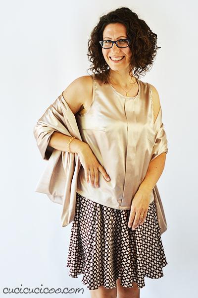 Vieni a conoscere Lisa, fondatrice e mente creativa di Cucicucicoo: Eco Sewing & Crafting, uno dei siti più amati del web per tutorial creativi divertenti ed unici! www.cucicucicoo.com