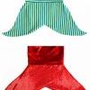"""Resta al caldo con la coperta a coda di sirena fai da te """"Sea Snuggler""""! Il cartamodello offre due possibili forme di pinna, due opzioni per il girovita e ben 16 taglie per bambini ed adulti! Se non ti piacciono le sirene, c'è una variazione per creare una coda di squalo, perfetto per maschietti! #sirena #cartamodello #cucicucicoopatterns"""