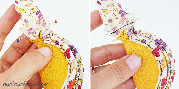Love binding with bias tape, but hate pinning it in place? Learn how to sew with a bias binding foot! Adjustable for all widths, perfect for lazy sewists! #biastapetutorial #biasbindingtutorial #howtousebiastape
