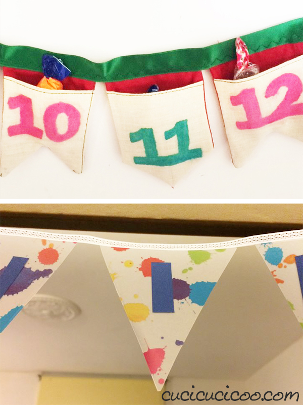 Use the incredibly versatile Celebrate! Banner pattern to learn how to sew fabric bunting in myriad shapes, sizes and styles! Here you can see some of the many ways that it has been personalized by various creators! #cucicucicoopatterns #handmadebanner #bannerpattern #buntingpattern #fabricbunting