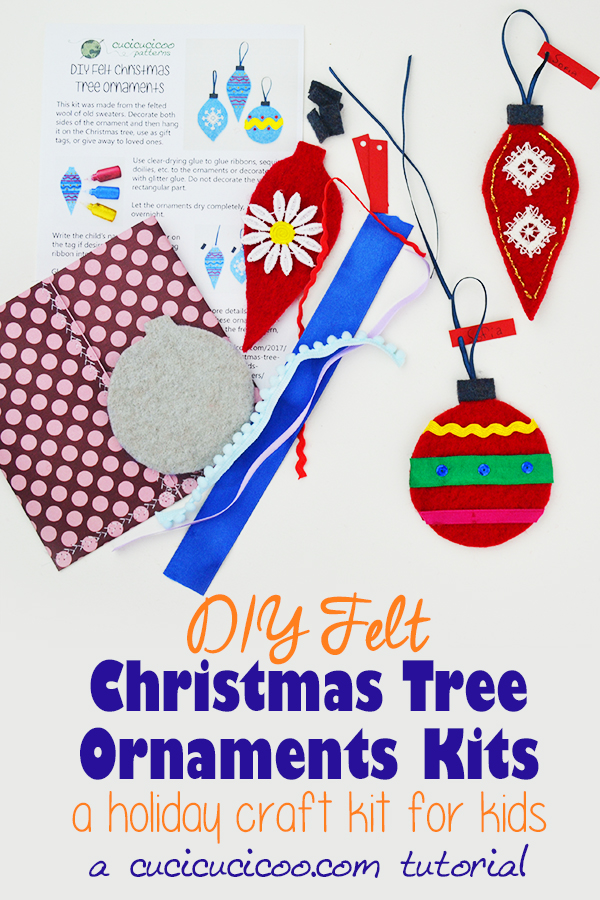 Diy Christmas Ornament Kits For Children Great Holiday Gift
