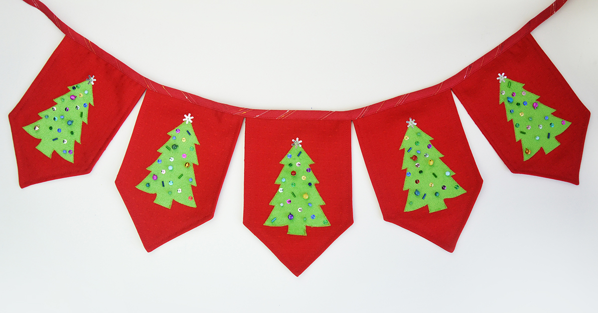 Diy Christmas Tree Banner Template And Tutorial Cucicucicoo