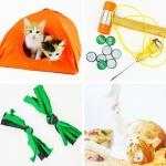 Realizza questi 8 giochi fai da te per gatti con il riciclo creativo in meno di 5 minuti! Basta quello che hai già in casa per far divertire il tuo gatto preferito! #giochigatti #giochipergatti