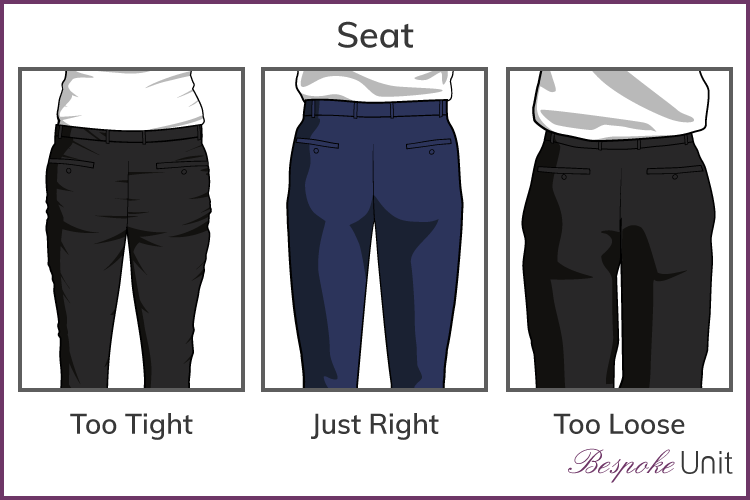 Learn how to adjust the crotch in pants for a perfect fit! Simple pattern alterations avoid pulled or baggy fabric along your bum or crotch curves, making you look the best you can! - modifying the back crotch curve - #patternadjustment #crotchcurve