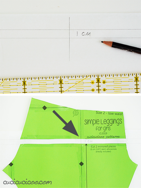 Learn how to adjust the crotch in pants for a perfect fit! Simple pattern alterations avoid pulled or baggy fabric along your bum or crotch curves, making you look the best you can! - adjustment to raise the rise - #patternadjustment #crotchcurve