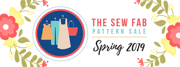 6ffa308fa Sew loads of warm weather patterns with the amazing Sew Fab 2019 spring sewing  pattern bundle