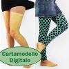 Cuci i tuoi abiti con questo cartamodello PDF per leggins. I Simple Leggings per Donne è semplice, anche per principianti. Tre lunghezze e due opzioni vita. Si stampa a casa quindi puoi iniziare subito! #cartamodellopdf #cartamodellocucito