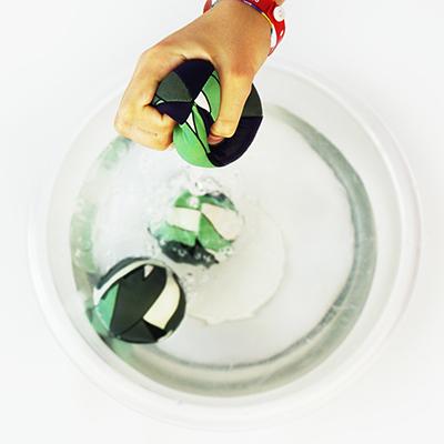 Come fare le palline splash balls handmade da un vecchio costume
