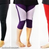 Be DIY fashionable with the Hyacinth Moto Leggings pattern for women, by Cucicucicoo Patterns! 10 sizes, two lengths, two waist heights, two views at two different skill levels… this sewing pattern has everything a trendy sewist could want for her handmade wardrobe! #leggingssewingpattern #leggingspattern