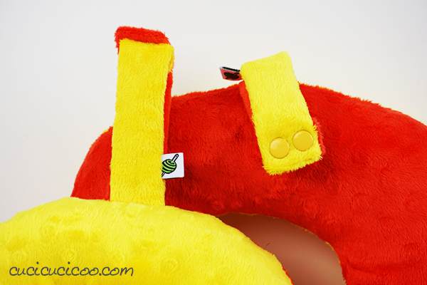 Diy Neck Pillow Template Pdf Download Tutorial Cucicucicoo