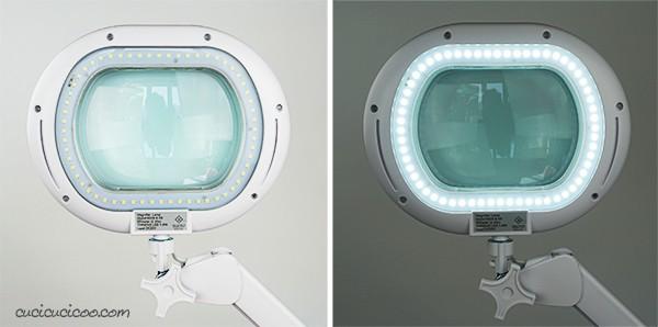 Ora i sarti e altri creativi possono salvare gli occhi con la LightView XL, una lampada da terra con luci LED e una lente di ingrandimento 225%. Creare non è mai stato così semplice e piacevole! #brightech #lampada