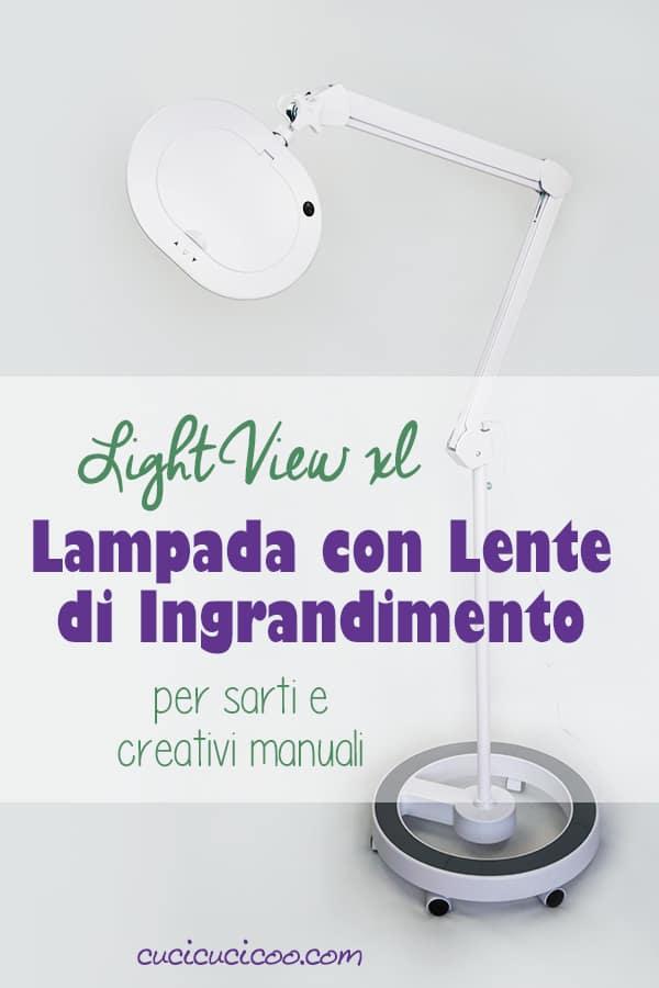Ora i sarti e altri creativi possono salvare gli occhi con la lampada da terra con lente di ingrandimento LightView XL. Con luci LED integrate e ingrandimento dl 225%, creare è semplice e piacevole! #brightech #lampada
