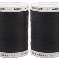 Gutermann Sew All black thread