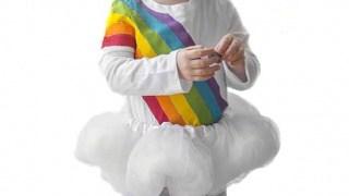 DIY Rainbow Costume for Kids