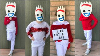 Toy Story Forky Costume - 4 Different Ways