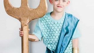 DIY Poseidon Costume