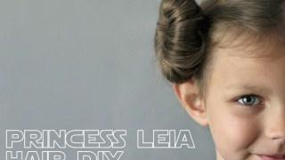Princess Leia Hair Tutorial