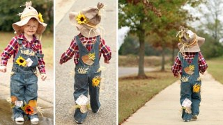 Costume da spaventapasseri