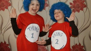 How To Make… Thing 1 and Thing 2 costume