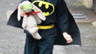 How to... Make an (Upcycled) Batman Costume