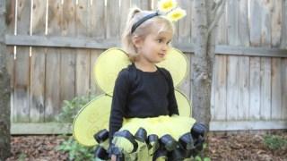 DIY Bumble Bee Costume