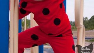 DIY Miraculous Ladybug Costume With Reversible Mask