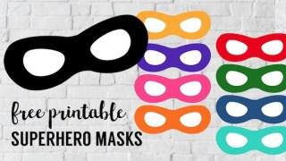 Incredibles Free Printable Superhero Masks