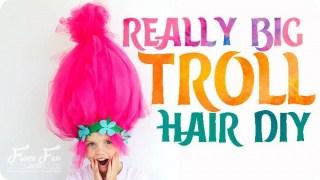 Big Troll Hair DIY - Easy to Make Costume Piece!