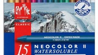 Caran d'Ache NEOCOLOR II Pastelli a cera acquerellabili