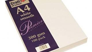 Cartoncino bianco, Formato A4, 300 g/m2