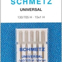 25 Schmetz Universal Sewing Machine Needles Size 110/18