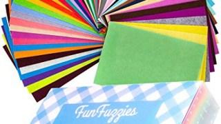 Colored felt sheets