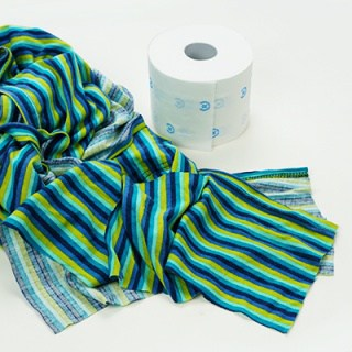 How to make DIY cloth toilet paper