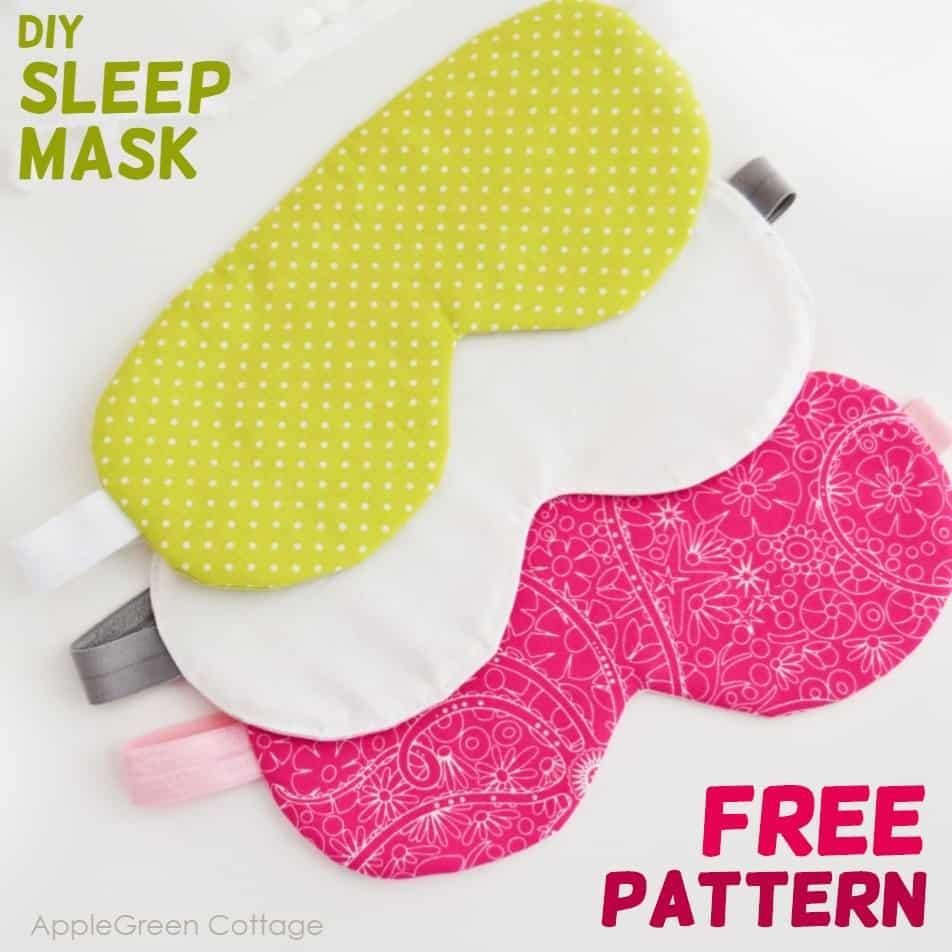Diy Sleep Mask - Free Pattern