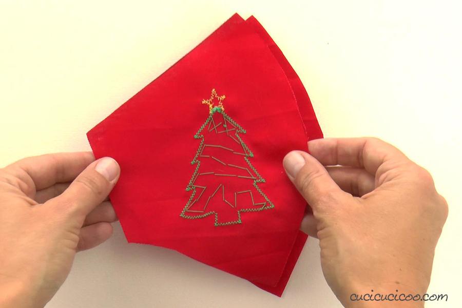 Cucire una mascherina riutilizzabile per Natale con un cartamodello gratuito
