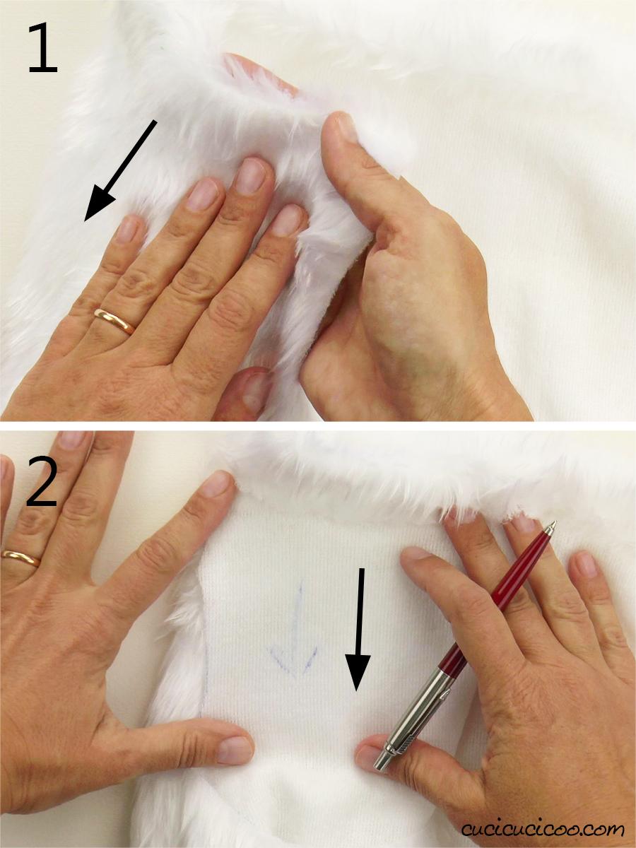 Impara come cucire un pompon di pelliccia sintetica! Sono perfetti per cappelli, fasce per i capelli, portachiavi e tanto ancora! Questo tutorial di cucito a mano è semplice anche per chi non sa cucire! #ponpom #pompom