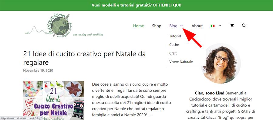 Il nuovo Cucicucicoo per 2021! Guarda le categorie del blog, con tutorial, cucito, crafting e dritte per vivere naturale! #cucire #cucitoitaliano