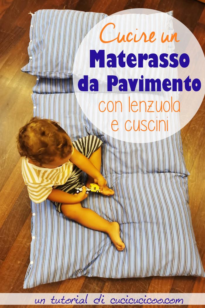 Impara a cucire un materasso da pavimento da cuscini per bambini e adulti! Semplice per principianti e comodo per rilassarsi a casa!